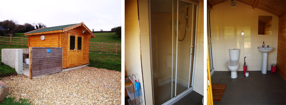 Our on-site, easy access toilet & shower room facilities.